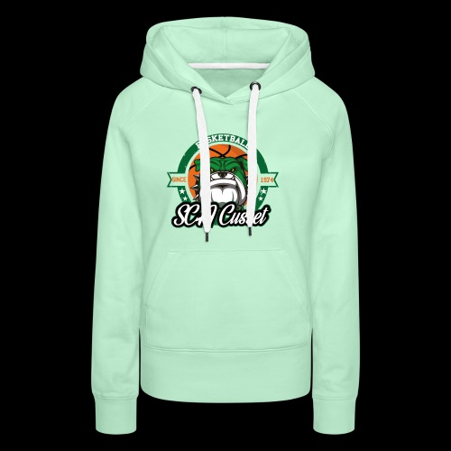 SCA Cusset Basket - Sweat-shirt à capuche Premium pour femmes