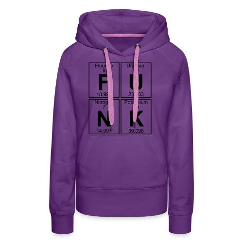 F-U-N-K (funk) - Full - Women's Premium Hoodie