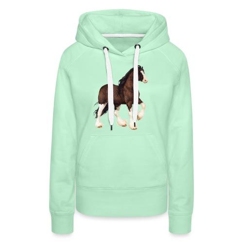 Shire Horse - Frauen Premium Hoodie