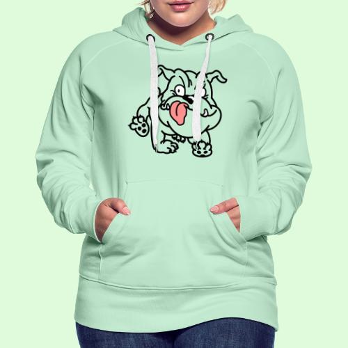 Ernestine, la caricature - Sweat-shirt à capuche Premium pour femmes