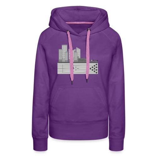 L'usine a Boule - Sweat-shirt à capuche Premium pour femmes