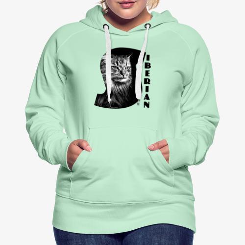 Siberian Cat S - Naisten premium-huppari