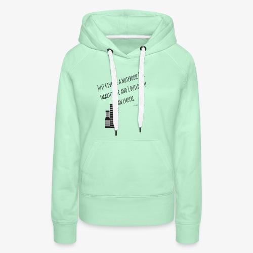 EMPIRE - Hustle Fashion by AMTDesign - Frauen Premium Hoodie