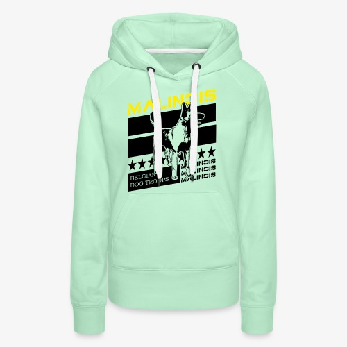 Malinois - Belgian Dog Troops - Frauen Premium Hoodie