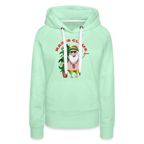 Rasta Claus - Frauen Premium Hoodie
