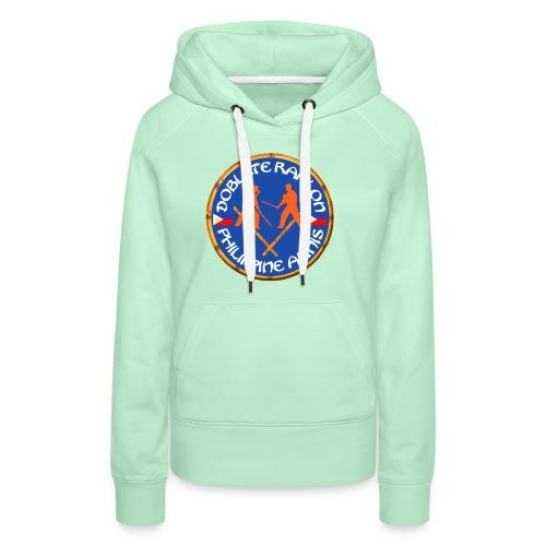 Arnis Kali Doblete Rapilon - Sweat-shirt à capuche Premium pour femmes