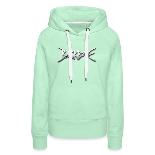 Backbone Logo - Vrouwen Premium hoodie