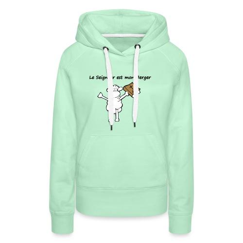 mout1 - Sweat-shirt à capuche Premium pour femmes