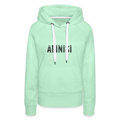 Alinisi Black - Frauen Premium Hoodie