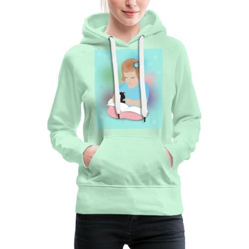 Friends forever - Sweat-shirt à capuche Premium pour femmes