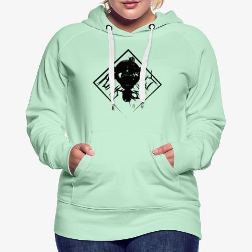 Punk Monkey - Sweat-shirt à capuche Premium pour femmes