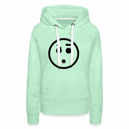 EMOJI 18 - Sweat-shirt à capuche Premium pour femmes