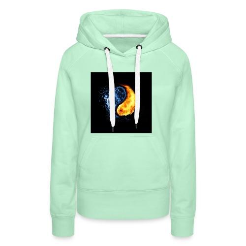 clem's - Sweat-shirt à capuche Premium pour femmes