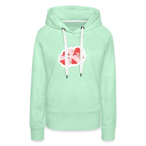 skootix japan - Sweat-shirt à capuche Premium pour femmes
