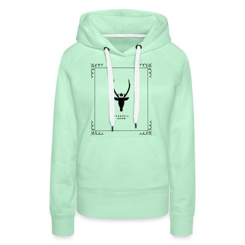 kbc1 - Sweat-shirt à capuche Premium pour femmes