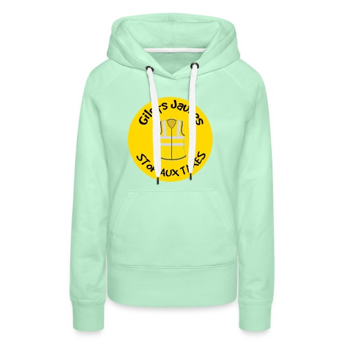 Stop Aux Taxes - Sweat-shirt à capuche Premium pour femmes