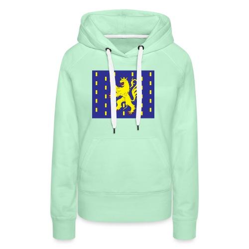 Franche Comté - Sweat-shirt à capuche Premium pour femmes