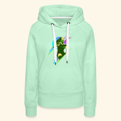 Play with the game and win the championship - Frauen Premium Hoodie