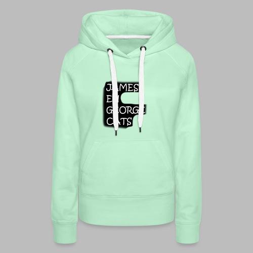 James en George (Limited Edition!) - Vrouwen Premium hoodie