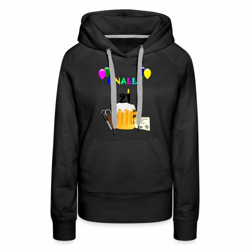 Finally 21 (2) - Women's Premium Hoodie