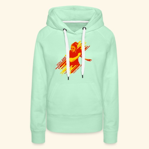 You areyour only limit, Ping pong champs - Frauen Premium Hoodie