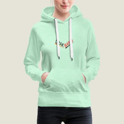 DrakBand Designs - Sudadera con capucha premium para mujer