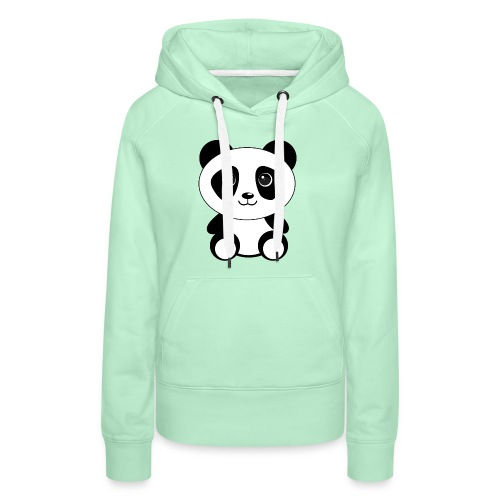 Panda Trend Sommer design - Frauen Premium Hoodie