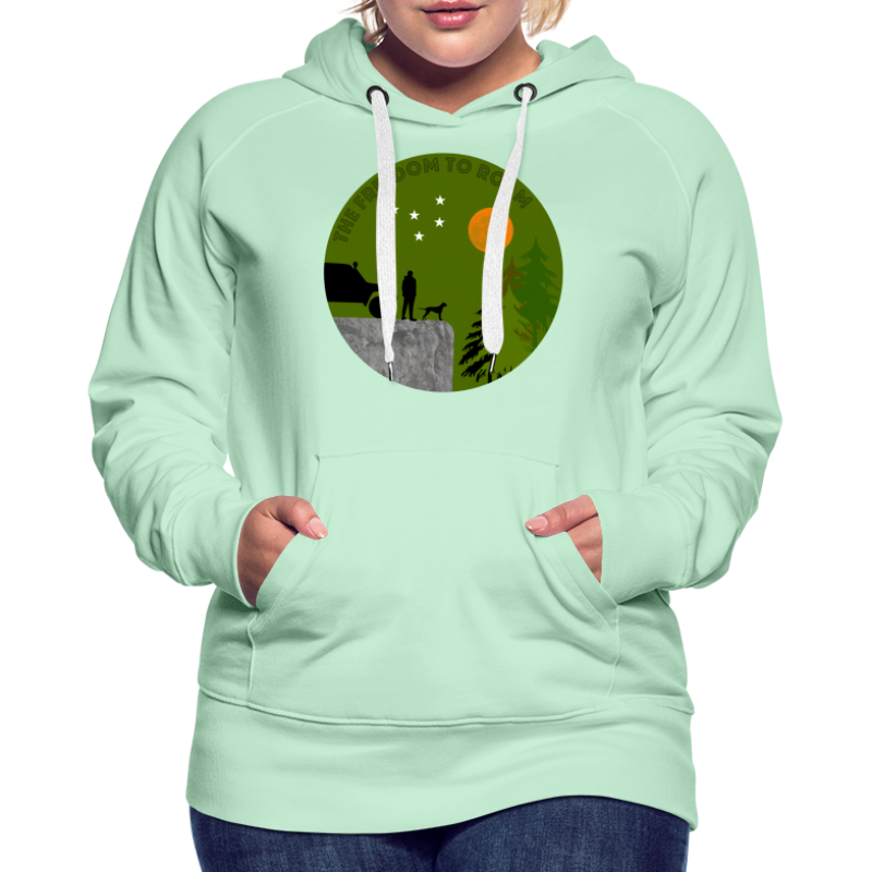 The freedom to roam - Frauen Premium Hoodie