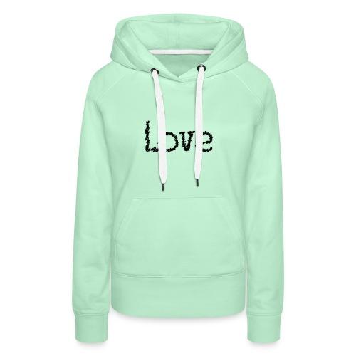 Love sketch - Frauen Premium Hoodie