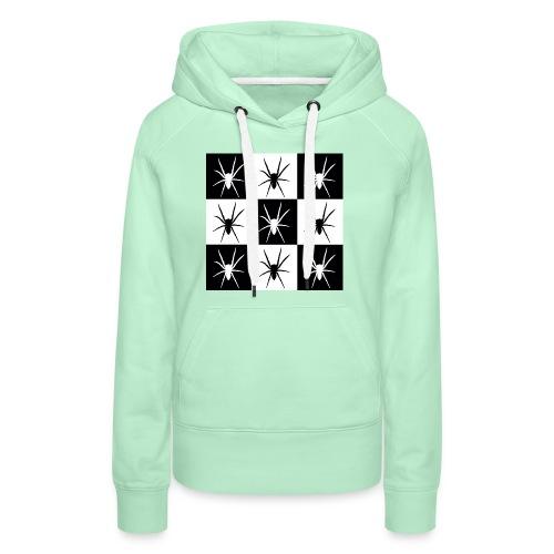 Spider 1jpeg - Sweat-shirt à capuche Premium pour femmes