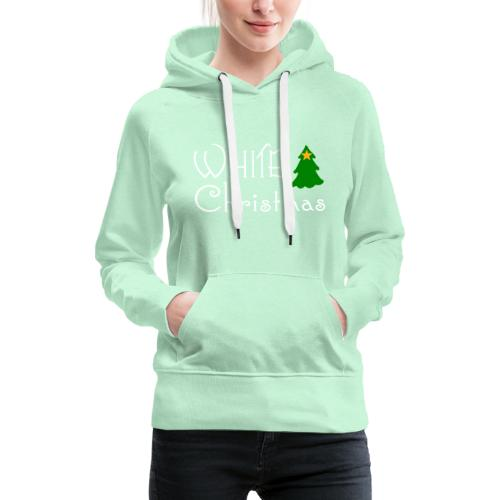 White Christmas - Women's Premium Hoodie