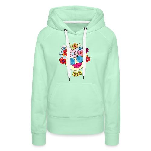 flowergirl soft - Frauen Premium Hoodie