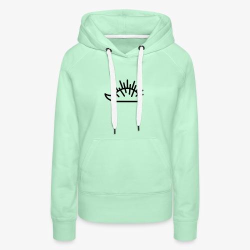 Hérisson - Sweat-shirt à capuche Premium pour femmes