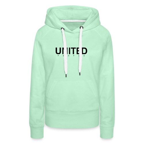 United People N - Sweat-shirt à capuche Premium pour femmes