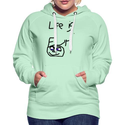 Life Is Fun Merch - Women's Premium Hoodie