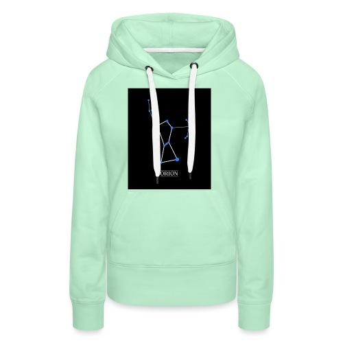 Constellation Orion - Sweat-shirt à capuche Premium pour femmes