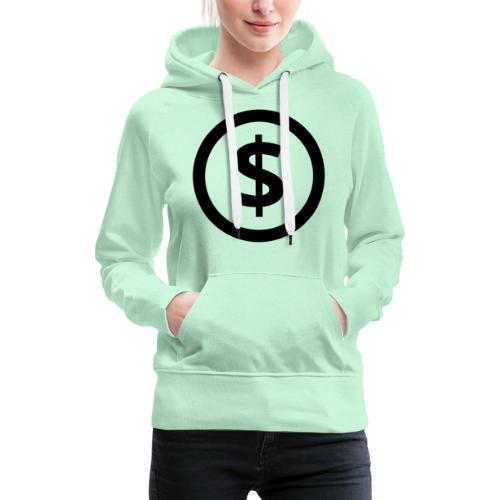 Dollar - Frauen Premium Hoodie