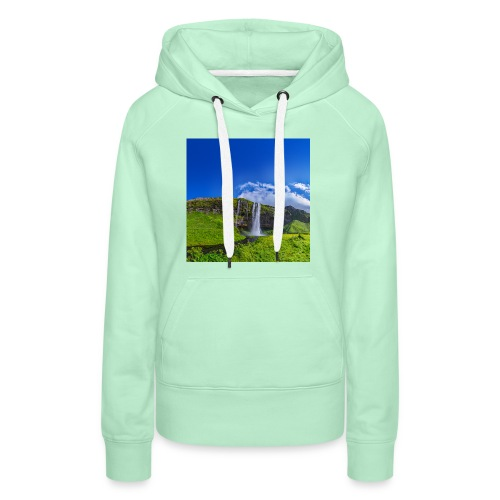 Seljalandsfoss - Frauen Premium Hoodie