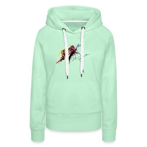Schmetterling in Aquarelloptik - Frauen Premium Hoodie