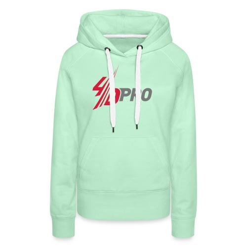 4d pro logo neu - Frauen Premium Hoodie