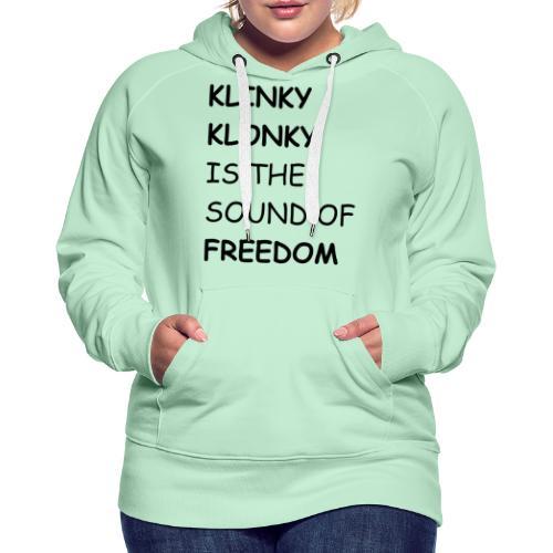 Klonky Freedom - Dame Premium hættetrøje