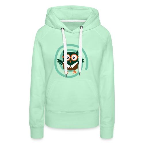 School Owl - Textile and gift products FP10-54 - Naisten premium-huppari