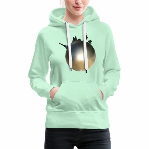Boule de Pétanque Mondial - Sweat-shirt à capuche Premium pour femmes