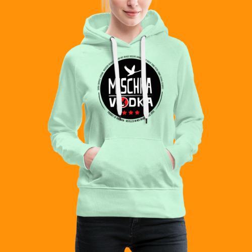 Grand Canard Blanc - MISCHKA VODKA - Sweat-shirt à capuche Premium pour femmes