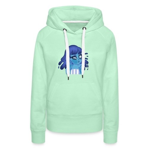 Water girl - Sweat-shirt à capuche Premium pour femmes