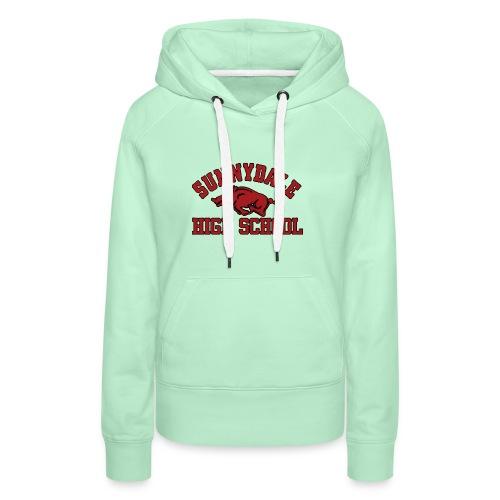 Sunnydale High School logo merch - Vrouwen Premium hoodie