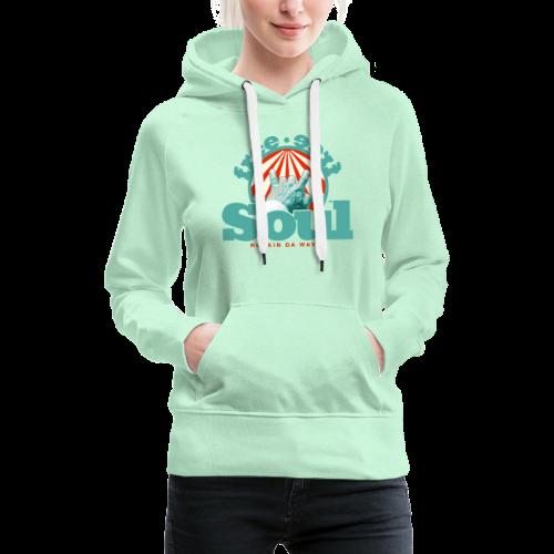 geweihbär - Frauen Premium Hoodie