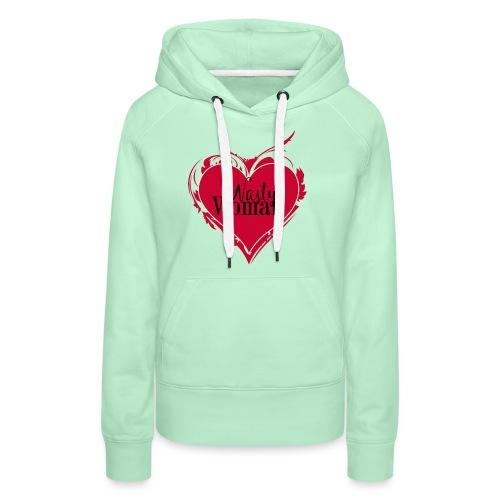 Nasty Woman ART Heart - Frauen Premium Hoodie