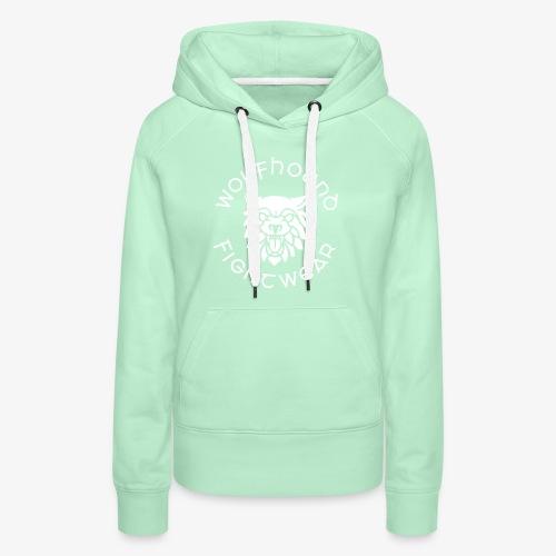 logo round w - Women's Premium Hoodie