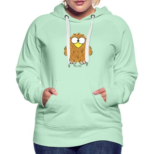Niki Owl - Women's Premium Hoodie